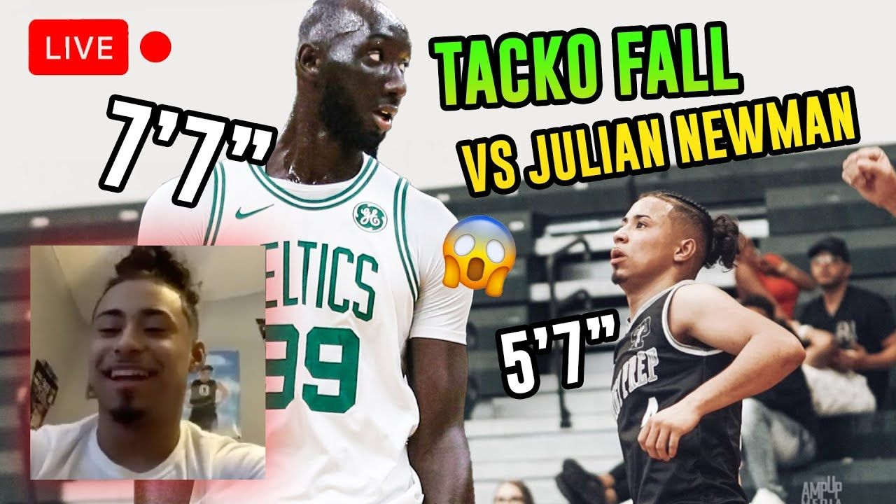 """Julian Newman Is Going Pro OVERSEAS! Opens Up On Playing 7'7"""" Tacko Fall, Scoring 91 & More 😱"""