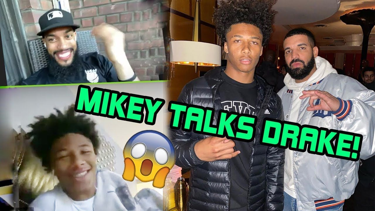 Mikey Williams Opens Up About Secret Meeting With DRAKE! 15 Yr Old Talks NBA YoungBoy & Dropping 77!
