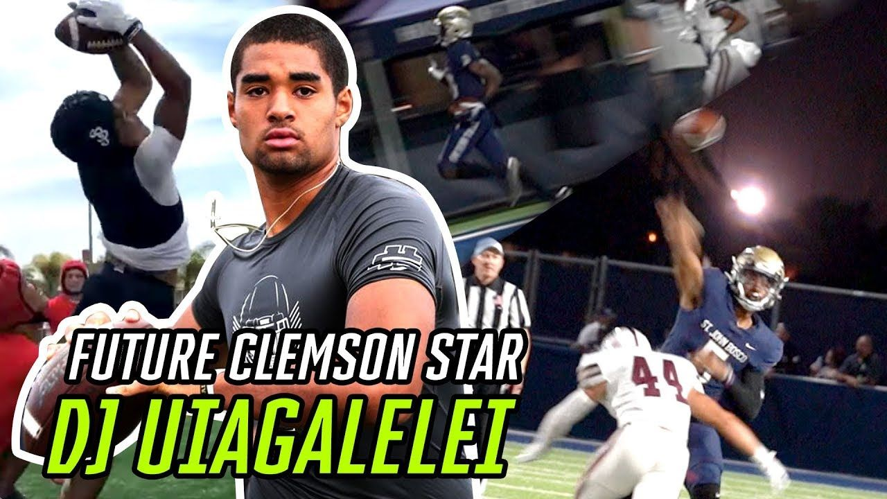 Clemson's Next Star DJ Uiagalelei Been COOKING All Season! #1 QB's Midseason MIXTAPE 🔥