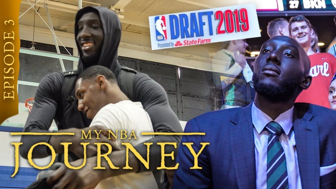 """I Might Not Get Drafted."" 7'7"" Tacko Fall Faces The TRUTH During The NBA Draft 😱"