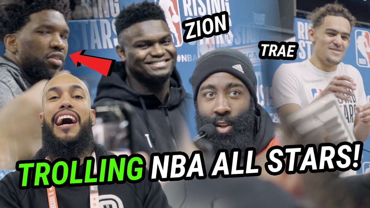 We Snuck Into NBA All-Star Weekend & TROLLED ZION! Behind The Scenes W Giannis, Trae, Harden & More!
