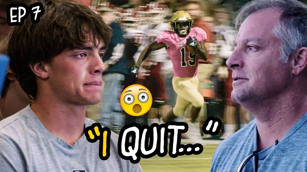 """My WHOLE LIFE'S Been Football!"" Star WR Stresses Over D1 Offers. Coach Is BENCHING Starting QB!?"