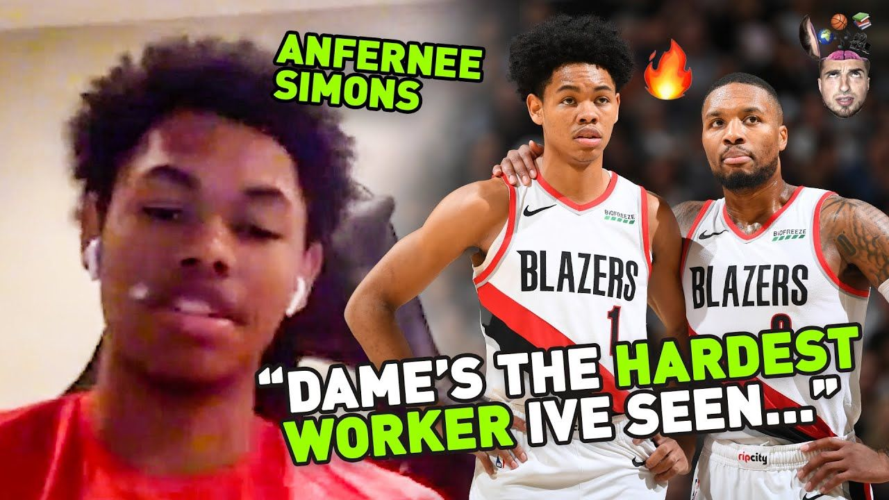 What Is Damian Lillard REALLY LIKE!? Anfernee Simons Spills On The Trail Blazers & IMG Academy 😱
